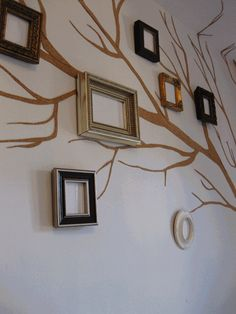 DIY Idea: Picture Frame Family Tree | Just Imagine - Daily Dose of Creativity