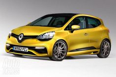 First approach to the Renault Clio RS 2013: Completely redesigned and turbo