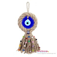 Evil Eye Store Turkish Evil-Eye Amulet Turkish Evil Eye Amulet for hanging home or office. An amulet charm or object carried for protection from evil. Crafts To Sell, Diy And Crafts, Arts And Crafts, Palette Deco, Art Mural, Handmade Decorations, Home Decor Wall Art, Evil Eye, Home Gifts