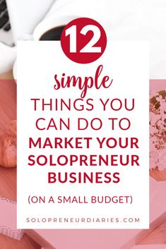 Do you want to grow your business, but you don't have a lot of money to spend on marketing? Promoting your business doesn't have to be hard or expensive. Here are 12 easy marketing tips to help you grow your small business on a small budget. | Marketing Strategy | Marketing Ideas | Marketing Ideas Business #growyourbusiness #marketingideas Marketing Strategies, Marketing Ideas, Email Marketing, Content Marketing, Affiliate Marketing, Promote Your Business, Growing Your Business, Business Tips, Online Business