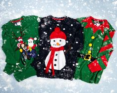 Make it festive with our range of colourful Christmas jumpers Christmas Jumpers, Christmas Sweaters, Christmas 2014, Latest Fashion, Festive, Range, Content, How To Make, Kids