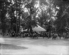 1900 Detroit Belle Isle Park Poney Ring Photo