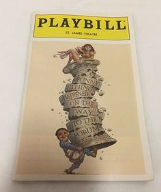 Playbill A Funny Thing Happened on the Way to the Forum Nathan Lane March 1996