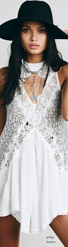 Free People Boho • ≫∙∙☮ Bohème Babe ☮∙∙≪• ❤️ Babz™ ✿ιиѕριяαтισи❀ #abbigliamento #bohojewelry #boho