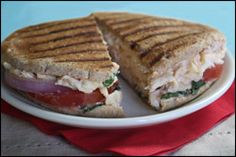 HG's Mega-Delicious Chipotle Chicken Panini - I'd swap out fat free mayo for light mayo with olive oil, skip the adobo sauce and use regular bread instead of flat sandwich buns (which you can't get where I live)