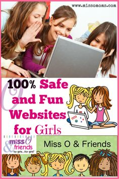 If you are looking for 100% safe and fun websites for girls, let us introduce you to  Miss O and Friends, www.missoandfriends.com