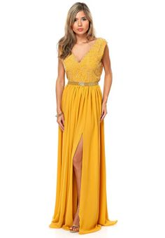 Virgos lounge lana yellow dress
