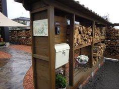 薪棚と薪小屋で快適な薪ストーブ生活を! - 長野県のガーデニングのことならアイザックデザイン