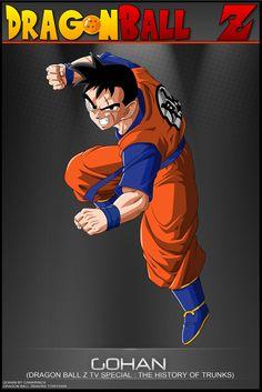 Dragon Ball Z - Gohan (The History of Trunks)