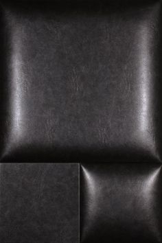 Envi Weathered metal MIDNIGHT NappaTile™ Faux Leather Wall Tiles by Concertex