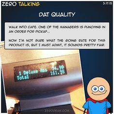Dat quality #ZeroTalking