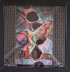 """KunstWERTstatt: """"Bird of life for the people of the coal miming"""" von Nicole Röhlen"""