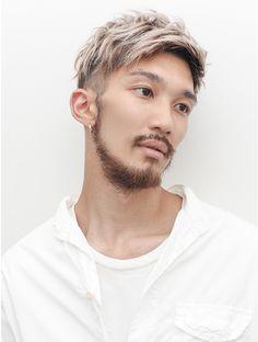 Mohawk Hairstyles Men, Asian Men Hairstyle, Textured Haircut, Fade Haircut, Faded Hair, Bleached Hair, Yummy Hair, Hair And Beard Styles, Long Hair Styles
