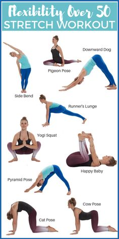 Yoga workout for flexibility! yoga for flexibility routine is designed to stretch a little bit of everything with basic yoga poses and longer Yoga Fitness, Lagree Fitness, Planet Fitness Workout, Health And Fitness Tips, Fitness Workouts, Fitness Nutrition, Fitness Goals, Fitness Motivation, Health Tips