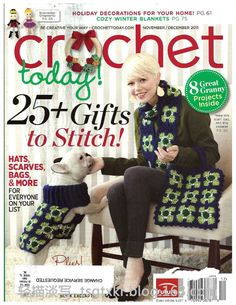 Crochet Today №11/12 2011  Lancaster quilt Style amish