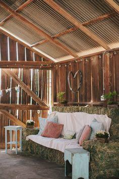 DIY Farm Wedding in Merced CA from Jake + Necia  Read more - http://www.stylemepretty.com/california-weddings/2013/10/01/diy-farm-wedding-in-merced-ca-from-jake-necia/
