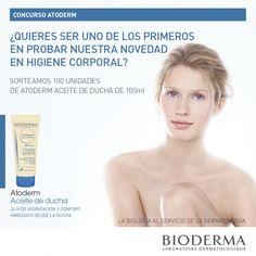 CONCURSO  ATODERM: Nuevo Aceite de ducha