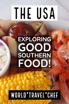 Road Trip Travel Food - One of the best things about USA travel in the deep south was trying Southern Food. We take a look at some of the best dishes the southern states have to offer. Southern Dishes, Southern Food, Southern Recipes, Southern Style, Usa Travel, Travel Tips, New York Pizza, Sausage Gravy, Best Dishes