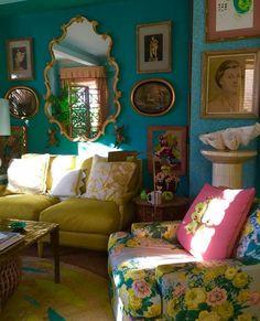 Living Room Decor, Living Spaces, Living Area, Deco Boheme, Interior Decorating, Interior Design, Traditional Decor, Fashion Room, Eclectic Decor