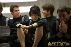 All bets are off with #District7's Johanna Mason in The Hunger Games: #CatchingFire. (Photo credit: Murray Close)