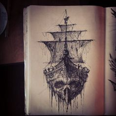 Ghost // Skull // Pirate Ship