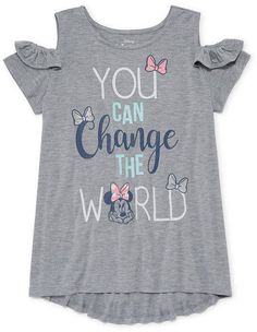 DISNEY MINNIE MOUSE Disney Minnie Mouse Tunic Top - Big Kid Girls