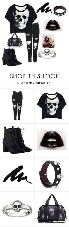 Back In Black by siriusfunbysheila1954 on Polyvore featuring Topshop, Zimmermann, Terez, Alexander McQueen and King Baby Studio