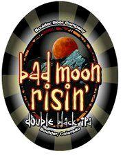 Boulder Bad Moon Risin'-Boulder Beer / Wilderness Pub   Colorado, United States  American Black Ale    12.00% ABV Tap Exclusive http://beeradvocate.com/beer/profile/130/78107