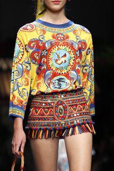 Dolce & Gabbana at Milan Fashion Week Spring 2016