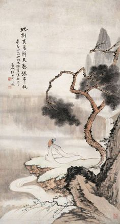 Zhang daqian chinese painting 。张大千绘画