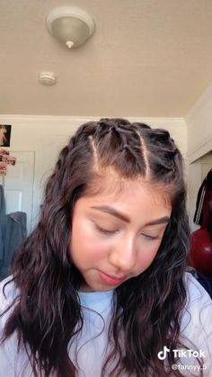 Cute Simple Hairstyles, Easy Hairstyles For Long Hair, Girl Hairstyles, Baddie Hairstyles, Hairstyles Videos, Bandana Hairstyles, Hair Up Styles, Medium Hair Styles, Hair Styler