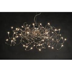 Gezien op Beslist.nl: Hanglamp 30101 modern chroom rond langwerpig ovaal