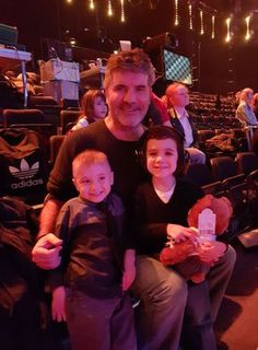 Simon Cowell continues to support cancer fighter Kian Musgrove