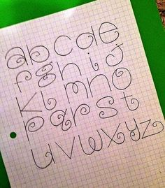 "lettering ""Letting Alphabet Designs"" Hand Lettering Fonts, Doodle Lettering, Creative Lettering, Brush Lettering, Lettering Tutorial, Monogram Fonts, Script Fonts, Monogram Letters, Free Monogram"