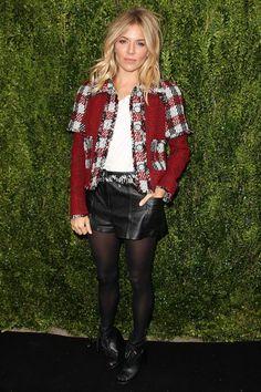 Tribeca Chanel Women's Filmmaker Programme luncheon, New York – October 25 2016  Sienna Miller wore Chanel