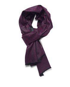 Marino-Silk Blend Reversible Scarf in Maroon Blanket Scarf, Scarves, Silk, Wool, Wedding, Design, Fashion, Scarfs, Valentines Day Weddings