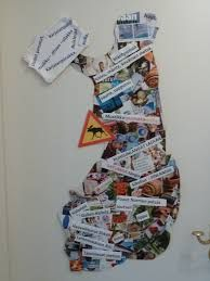 Aiheeseen liittyvä kuva Christmas Stockings, Typography, Collage, Letters, Holiday Decor, Finland, Cards, Characters, Signs
