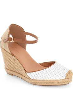 Caslon® 'Blaire' Espadrille Wedge (Women) available at #Nordstrom