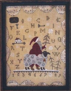 Country Stitches - Merry Christmas to Ewe