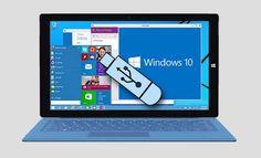 Cómo crear un disco de arranque usb con Windows 10