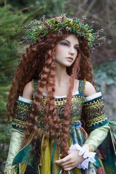 Brygid, Goddess fo Spring by Martha Boers of Antique Lilac - Copyright © 2013