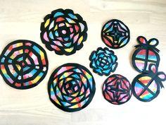 ス 作 り 方 diy crafts for kids, craft activities for kids, arts and Craft Activities For Kids, Diy Crafts For Kids, Paper Art, Paper Crafts, Crochet Christmas Gifts, Craft Wedding, Crochet Videos, Vintage Crafts, Diy Toys