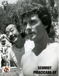 PAT MORITA E PATRICK DUFFY - O HOMEM DO FUNDO DO MAR (MAN FROM ATLANTIS) 1977
