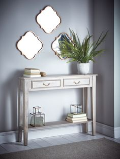 Elegant Small Hallway Console Tables