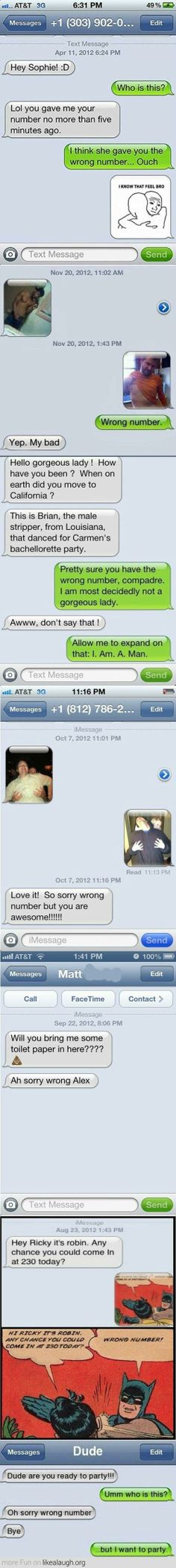 Wrong Number