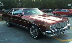 1977 Pontiac Brougham Coupe