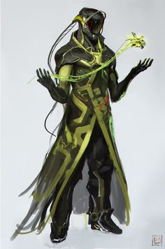 ArtStation - Green sketches !, Mustafa Lamrani