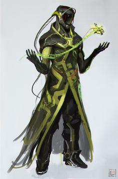 ArtStation - Green sketches !, Mustafa Lamrani