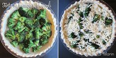 Din bucătăria mea: Tarta cu branza si broccoli Cheddar, Mozzarella, Avocado Toast, Quiche, Broccoli, Food And Drink, Breakfast, Pie, Morning Coffee