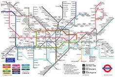 London Underground Transportation Map